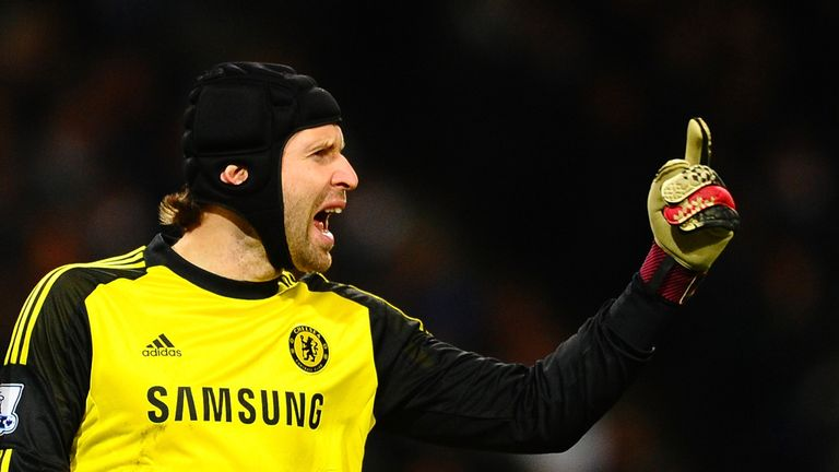 Petr Cech: Knows he faces a challenge from Courtois