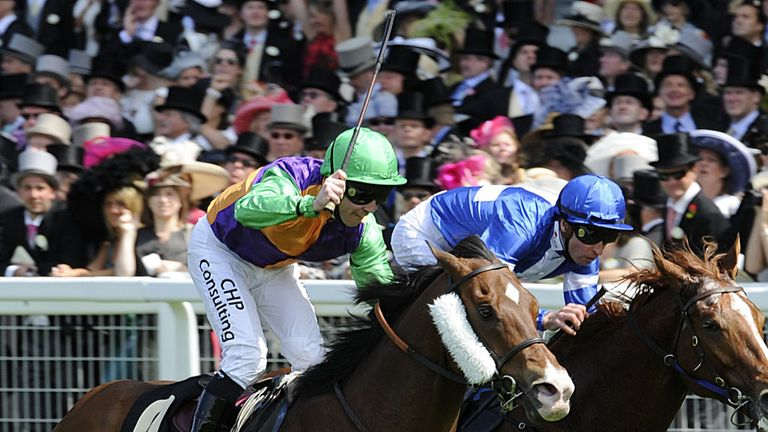 Prohibit seen winning the King's Stand in 2011