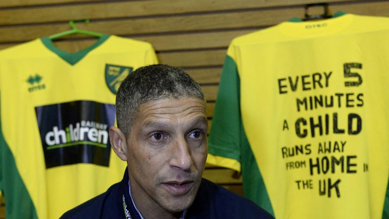 Chris Hughton: Pleased with Norwich's recent performances