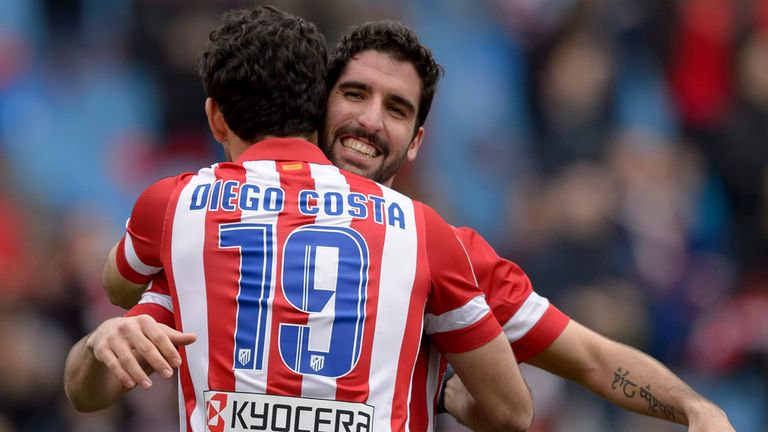 Raul Garcia: Agrees a contract extension with Atletico