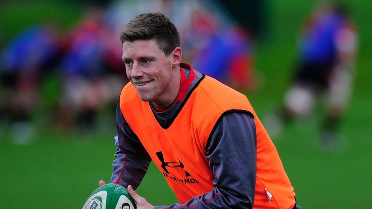 Rhys Priestland: Scarlets fly-half an injury concern for Wales