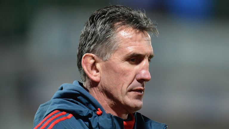 Rob Penney: Leaving Munster at the end of the season