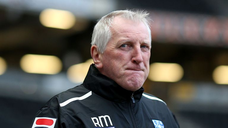 "Ronnie Moore: Suspended by Tranmere during an FA investigation into ""a potential breach of betting rules."""