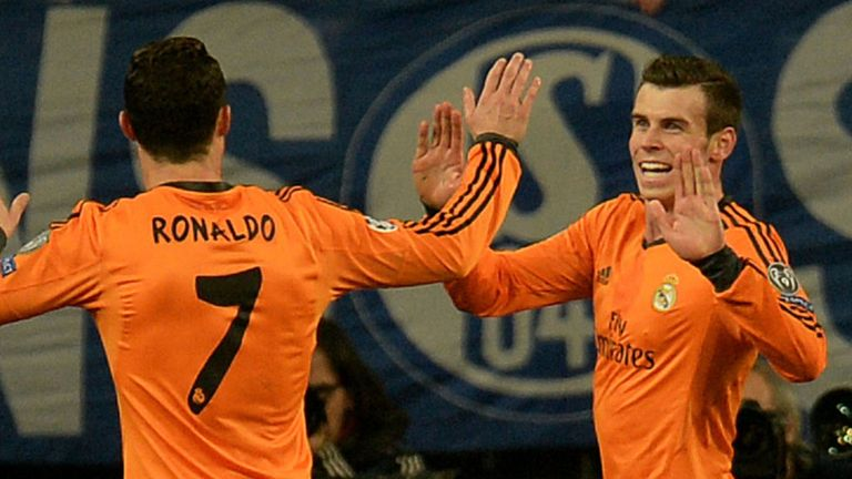 Double trouble: Cristiano Ronaldo and Gareth Bale on song for Real Madrid