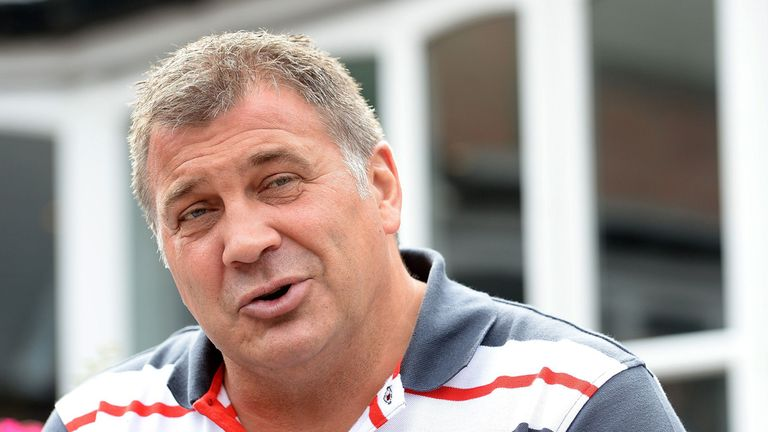 Shaun Wane: The Wigan coach was upset with his side's first-half display
