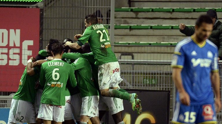 Saint-Etienne: Celebrate Brandao's late equaliser