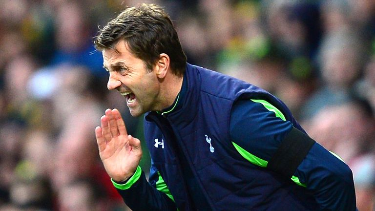 Tim Sherwood: Wants a 'blood and thunder' clash with Arsenal