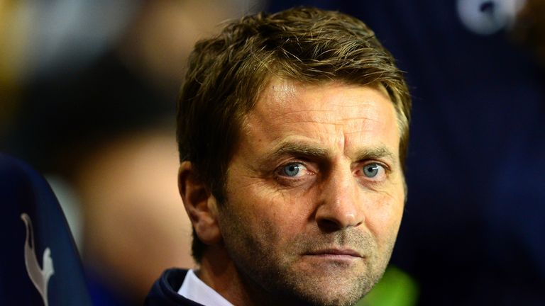 Tim Sherwood: Will sit down with Daniel Levy at the end of the season