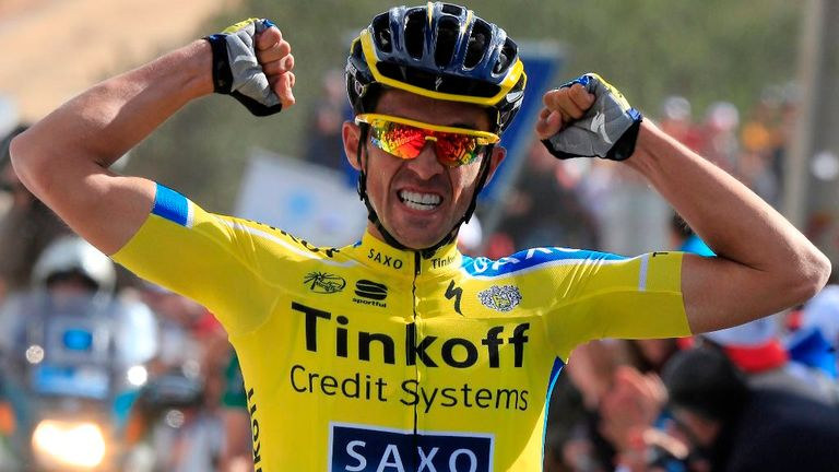Alberto Contador won stage four but did not do enough to claim the overall lead