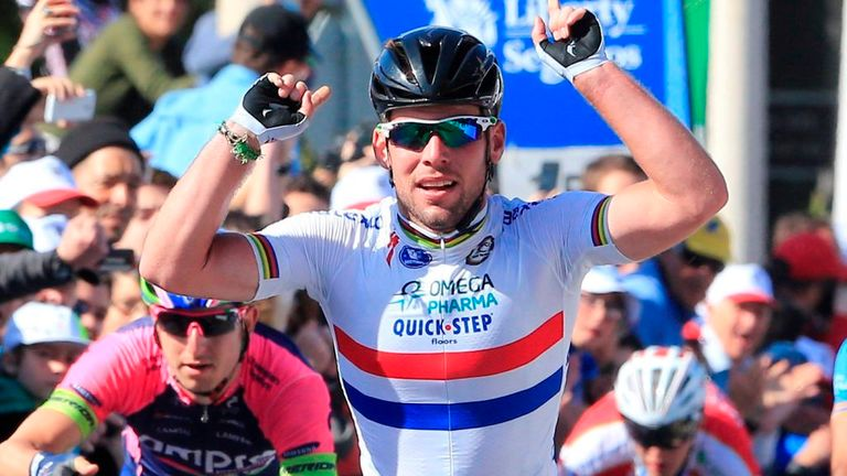 Mark Cavendish is looking for a second win at Milan-San Remo