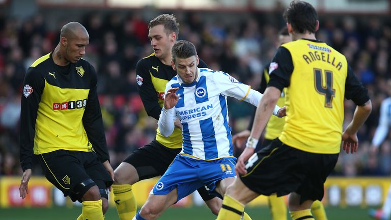 Match action from Vicarage Road