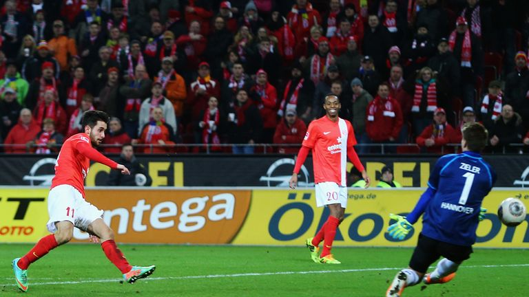 Yunus Malli fires Mainz into the lead