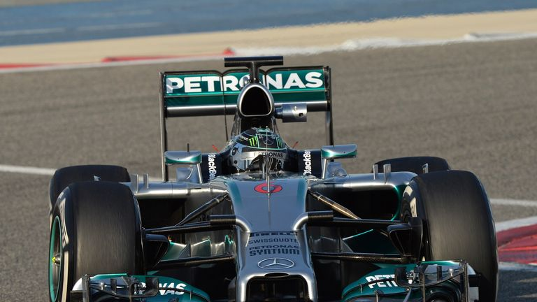 Nico Rosberg: Completed 84 laps on day two in Bahrain