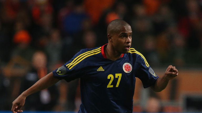 Edwin Valencia: Injury blow for Colombia midfielder