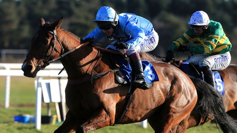 Fingal Bay: Back with a win at Exeter