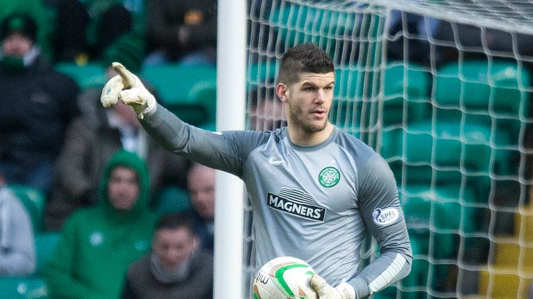 Celtic goalkeeper Fraser Forster hopes he can remain a contender for the Euros 2016 England squad.