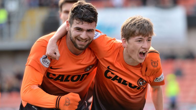 Nadir Ciftci and Ryan Gauld: Dundee United's goal heroes in the Scottish Cup