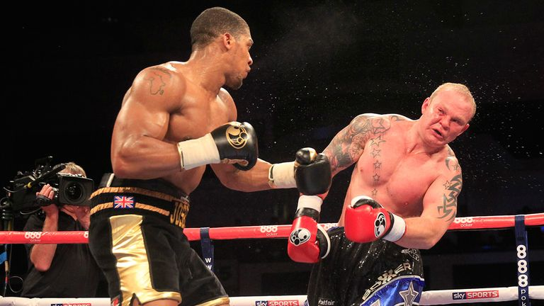 Anthony Joshua: Picked up his fourth stoppage defeat
