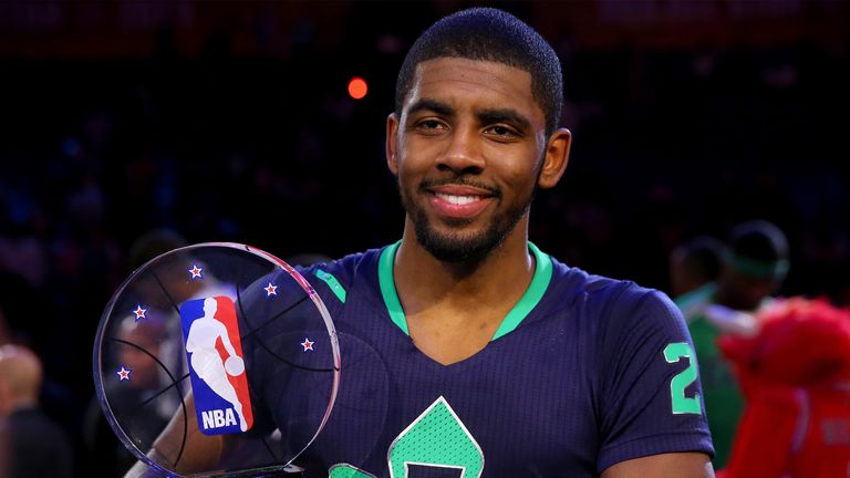 Kyrie Irving: Named MVP after 31-point haul in the All-Star game