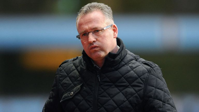 Paul Lambert: No pressure on Villa away from home