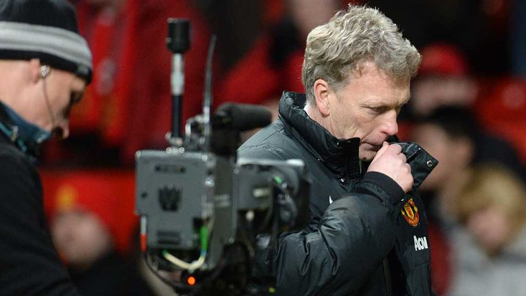 David Moyes: An unhappy man after failure to beat Fulham