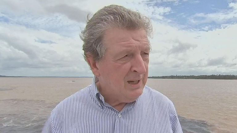 Roy Hodgson: On a fact-finding mission to Manaus