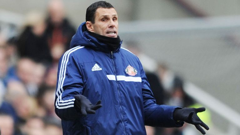 Gus Poyet: Insists he cannot plan ahead