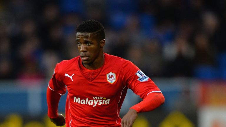 Wilfried Zaha: Confident Cardiff can steer a course to safety