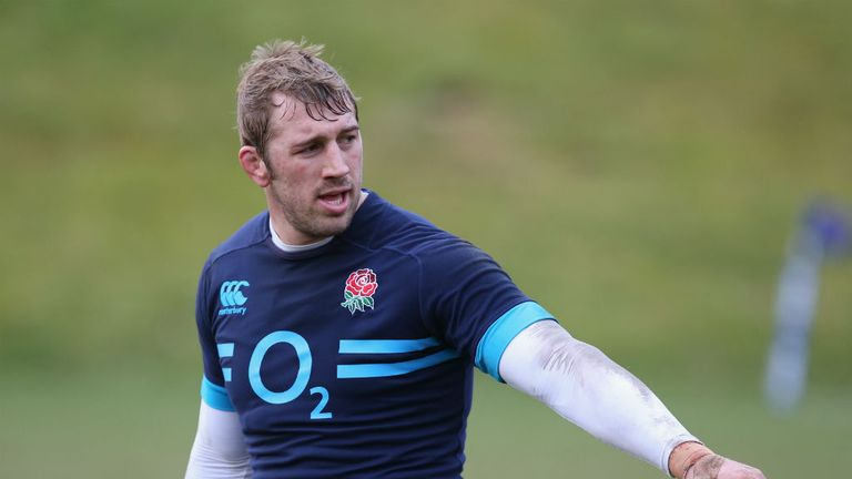Chris Robshaw: Is looking for England to turn Twickenham into a fortress