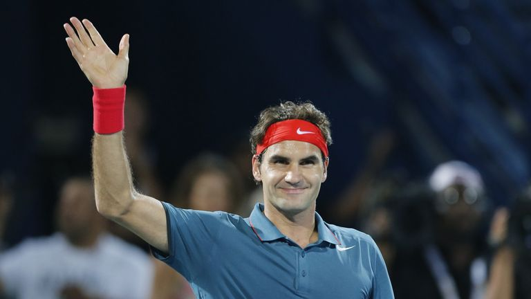 Roger Federer: No dramas in Dubai first round