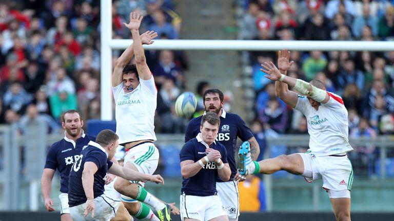Duncan Weir: Scotland fly-half sends over the match-winning drop goal