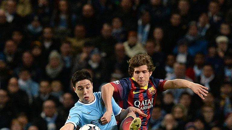 Samir Nasri: Suffered defeat while playing for Arsenal in the cup final
