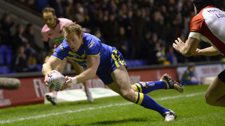 Joel Monaghan: Climbed into first spot on the try scorer charts last week