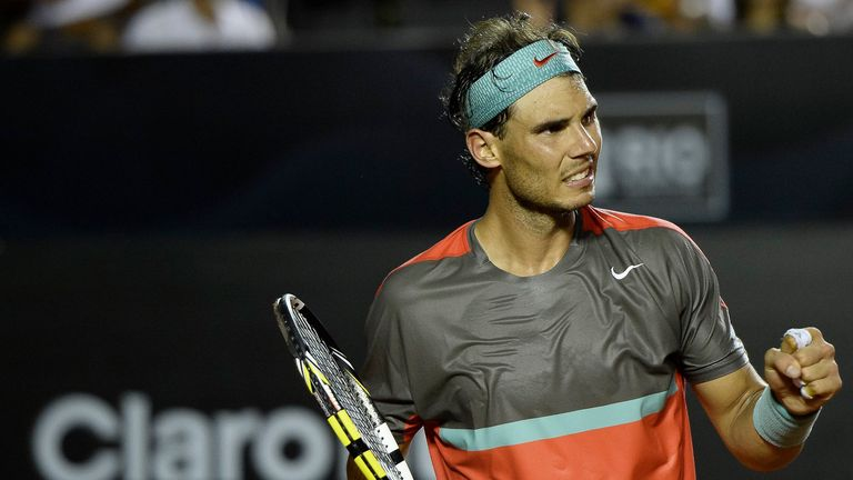 Rafael Nadal: Spaniard back to winning ways in Brazil