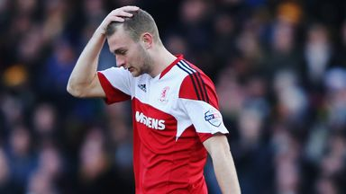 Ben Gibson: Injured ankle playing for England Under-21s