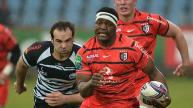 'Chiliboy' Ralepelle on the charge for Toulouse