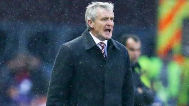 Mark Hughes: Stoke manager rejects Barton claims