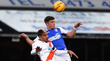 Faris Haroun: Finished last season with Blackpool