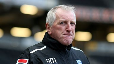 Ronnie Moore: Wants more from his side