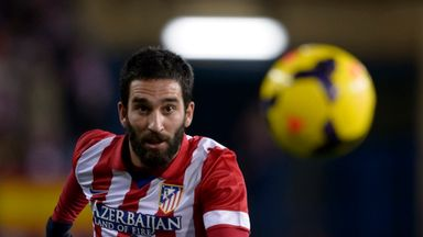 Arda Turan: Will play for Atletico against Galatasaray