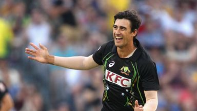 Mitchell Starc: Australia left-armer is on the comeback trail after back problem