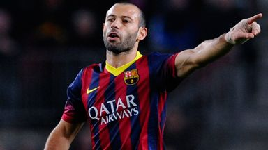 Javier Mascherano: Has signed a new deal with Barcelona