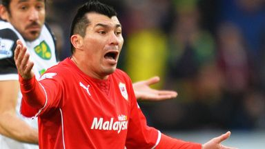 Gary Medel: Cardiff midfielder has been linked with Inter Milan