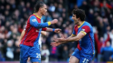 Marouane Chamakh: Absent since last month's draw with Swansea