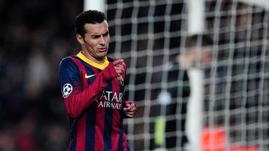 Pedro: Relishing test at the Etihad