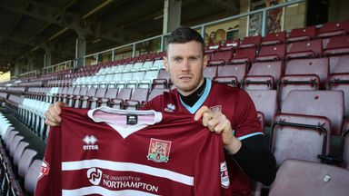 Zander Diamond: Joins Northampton on loan