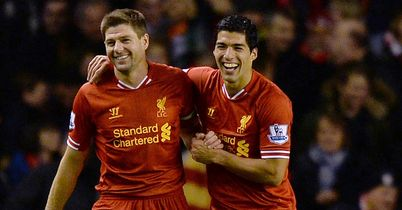 Steven Gerrard and Luis Suarez: Among stars of the season