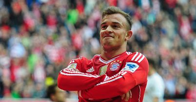 Hitzfeld urges Shaqiri to stay