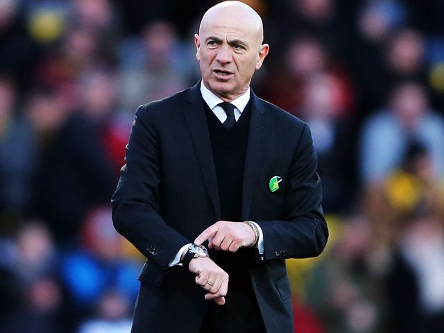 Sannino: Six wins on the spin at Vicarage Road