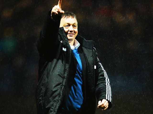 Billy Davies' side advanced to the fifth round